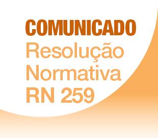 ANS - Resolução Normativa 259